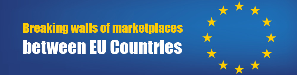 Breaking Walls Of Marketplaces Between EU Countries