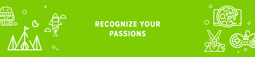 Start the marketplace with defining your passions